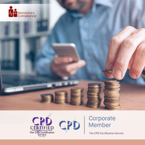 Managing Personal Finances Training - Online Training Course - CPD Accredited - Mandatory Compliance UK -
