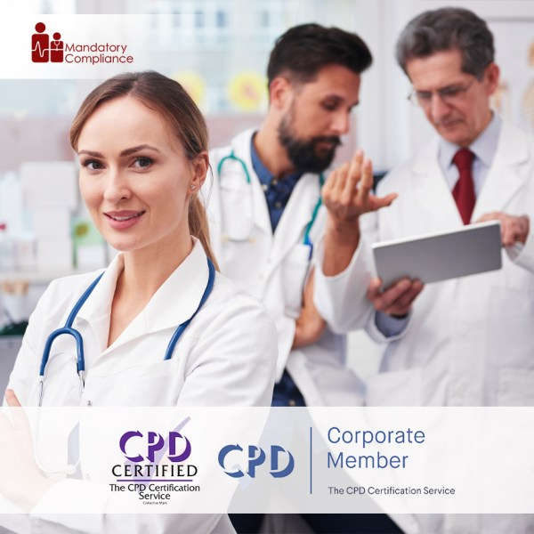 Mandatory Training for Doctors – Online Training Course – CPD Accredited – Mandatory Compliance UK –