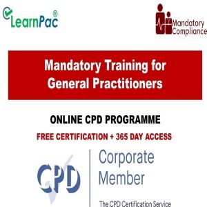 Mandatory Training for General Practitioners - Mandatory Training Group UK -