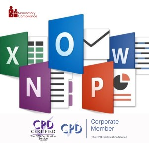 Mastering Microsoft Office 2016 - Online Training Course - CPD Accredited - Mandatory Compliance UK -