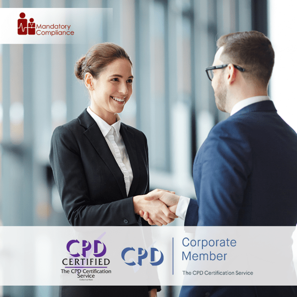Negotiation Skills Training – Online Training Course – CPD Accredited – Mandatory Compliance UK –