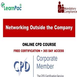 Networking Outside the Company - Mandatory Training Group UK -