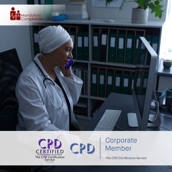 Non-Clinical Mandatory Training Courses – Online Training Course – CPD Accredited – Mandatory Compliance UK –