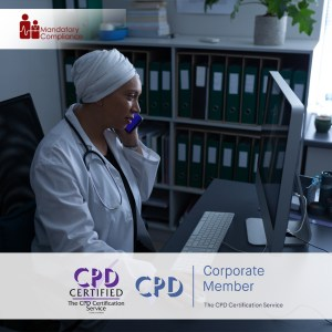 Non-Clinical Mandatory Training Courses - Online Training Course - CPD Accredited - Mandatory Compliance UK -