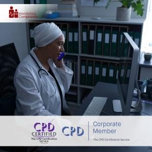 Non-Clinical Mandatory Training Courses - Online Training Course - CPD Accredited - Mandatory Compliance UK -