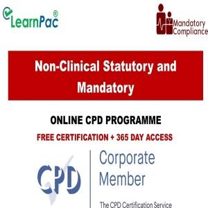 Non-Clinical Statutory and Mandatory Training Courses - Mandatory Training Group UK -
