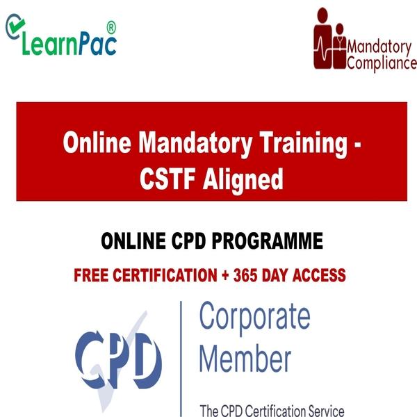 Online Mandatory Training – CSTF Aligned – Mandatory Training Group UK –