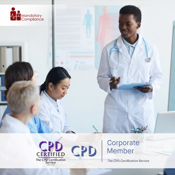 Online Mandatory Training – CSTF Aligned – Online Training Course – CPD Accredited – Mandatory Compliance UK –