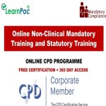 Online Non-Clinical Mandatory Training and Statutory Training - Mandatory Training Group UK -