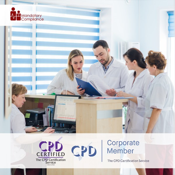 Online Non-Clinical Mandatory Training and Statutory Training – Online Training Course – CPD Accredited – Mandatory Compliance UK –