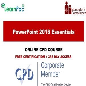 PowerPoint 2016 Essentials - Mandatory Training Group UK -