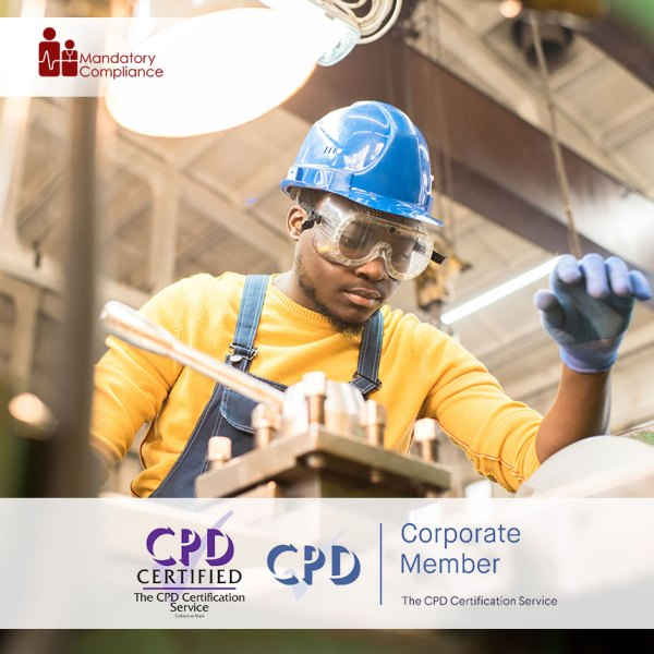 Safety in the Workplace – Online Training Course – CPDUK Accredited – Mandatory Compliance UK –