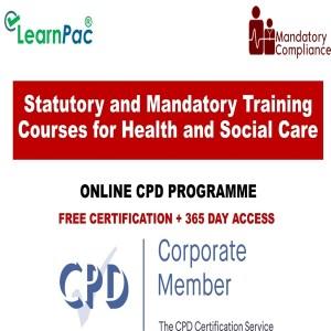 Statutory and Mandatory Training Courses for Health and Social Care - Mandatory Training Group UK -