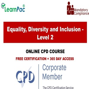 Equality, Diversity and Inclusion - Level 2 - Mandatory Training Group UK -