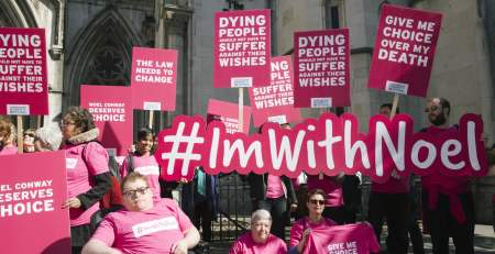 Legalise assisted dying for terminally ill, say 90% of people in UK - MTG UK -