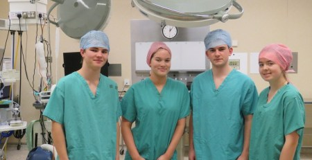 Youngsters scrub up well at Shropshire hospital academy - The Mandatory Training Group UK -