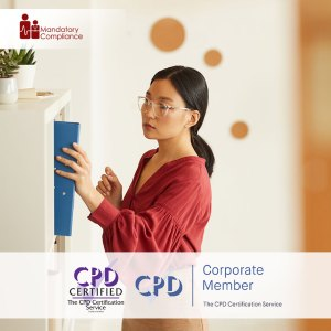 Administrative Office Procedures - Online Training Course - CPDUK Accredited - Mandatory Compliance UK -