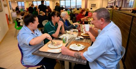 Health-eating NHS staff lead battle against obesity - MTG UK -