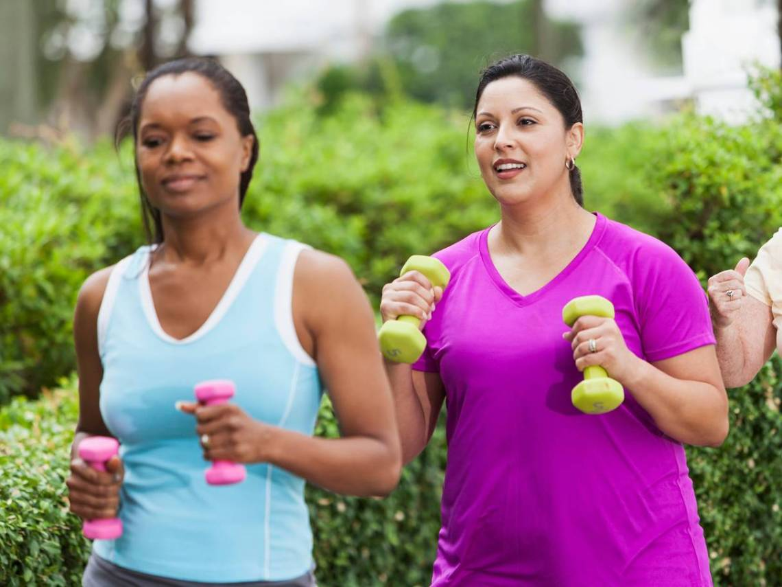 Keeping fit how to do the right exercise for your age - The Mandatory Training Group UK -