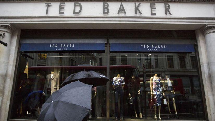 Ted Baker outlines 'hugging' inquiry as revenue falls - MTG UK