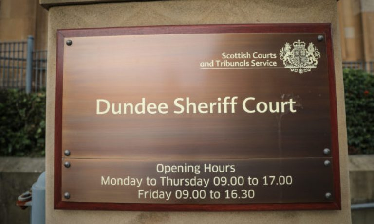 Angus OAP said child sex abuse was 'horseplay' as he is spared jail by Dundee sheriff