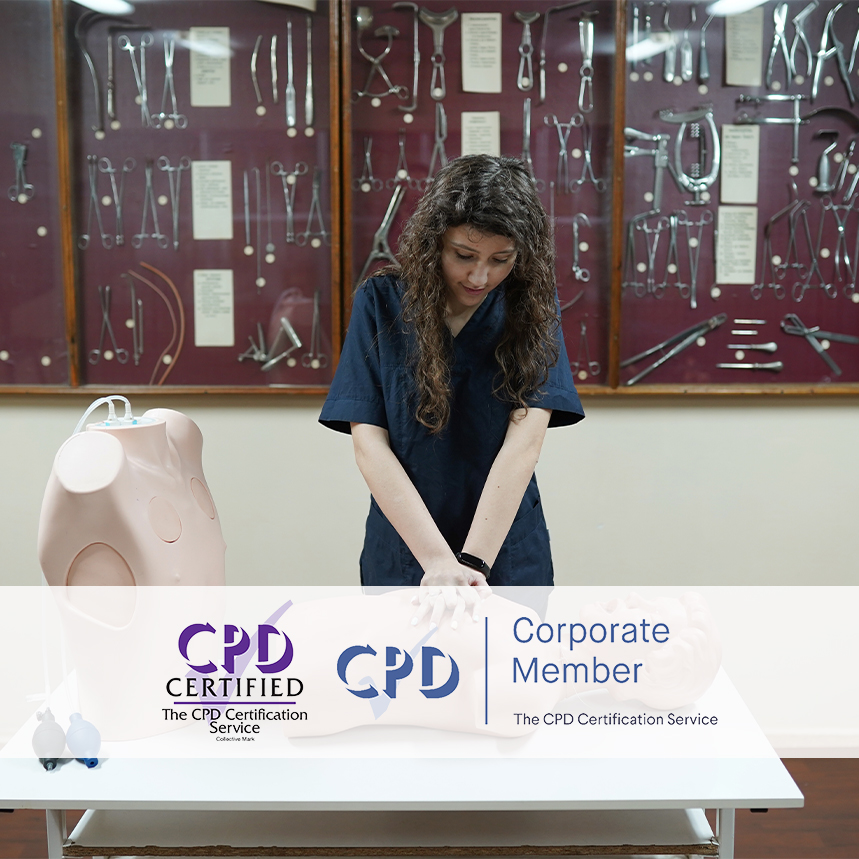 Cardiopulmonary Resuscitation Courses - Online Training Courses - Mandatory Compliance UK -