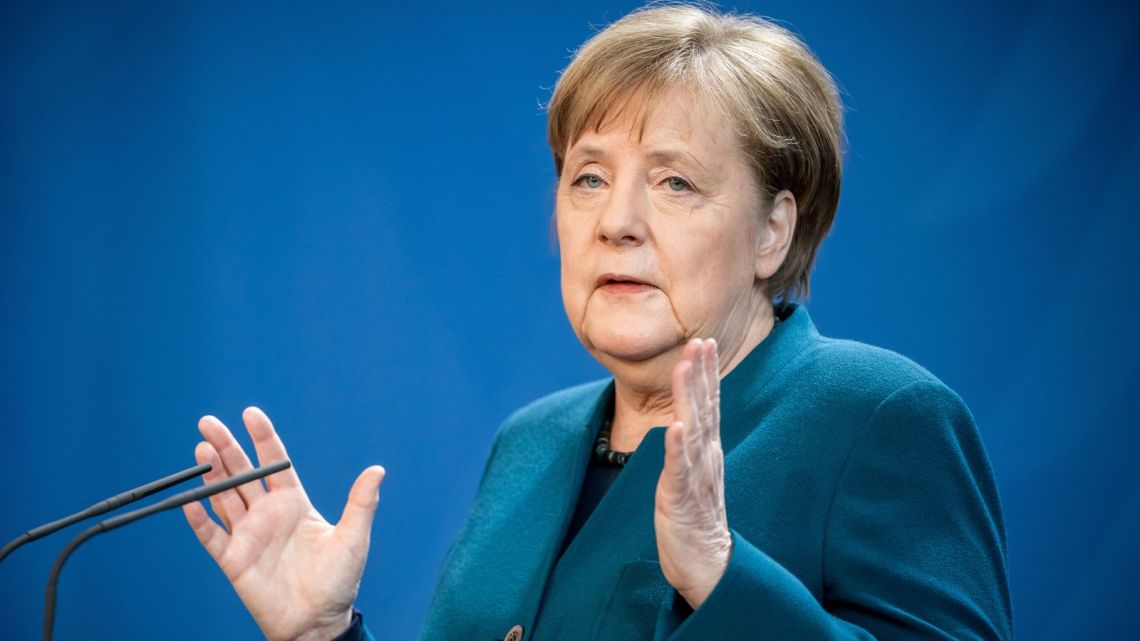 German Chancellor Angela Merkel in quarantine after a doctor tests positive for coronavirus - The Mandatory Training Group UK -