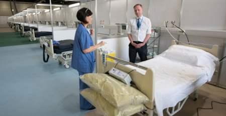 Nurse shortage causes Nightingale hospital to turn away patients - The Mandatory Training Group UK -