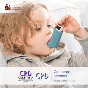 Asthma Awareness - Online Training Course - CPD Accredited - Mandatory Compliance UK -