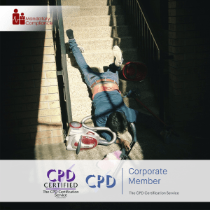 Falls Prevention Awareness - Online Training Course - CPD Accredited - Mandatory Compliance UK -
