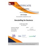 Storytelling for Business – eLearning Course – CPD Certified – Mandatory Compliance UK –