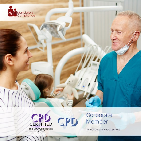 Conflict Management in Dental Practice – Online Training Course – CPD Accredited – Mandatory Compliance UK –