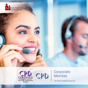 Customer Service Mastery - Online Training Package - CPDUK Accredited - Mandatory Compliance UK -