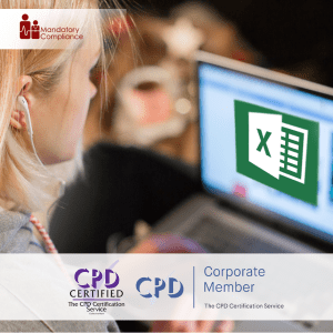 Excel Dashboards - Online Training Course - CPD Accredited - Mandatory Compliance UK -