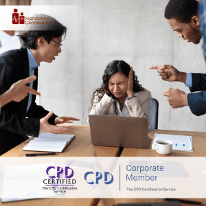 Workplace Harassment for Employees - Online Training Course - CPD Accredited - Mandatory Compliance UK -