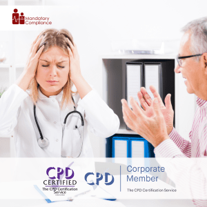 Dementia Care Training - Online Training Course - CPD Accredited - Mandatory Compliance UK -