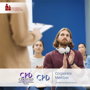 Effective Performance Management - Online Training Course - CPD Accredited - Mandatory Compliance UK -