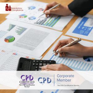 Finance Essentials - Online Training Package - Mandatory Compliance UK -