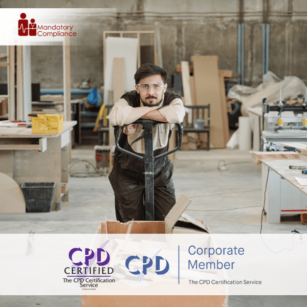 Manual Handling Safety at Work – Online Training Course – CPD Accredited – Mandatory Compliance UK –