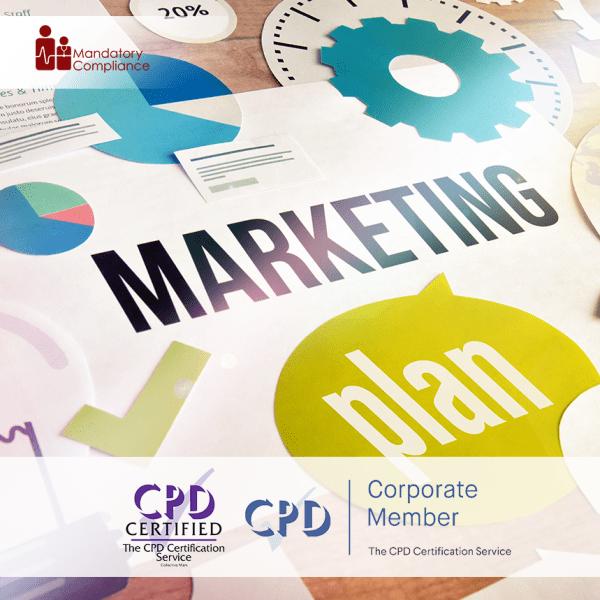 Marketing Essentials – Online Training Package – The Mandatory Training Group UK –