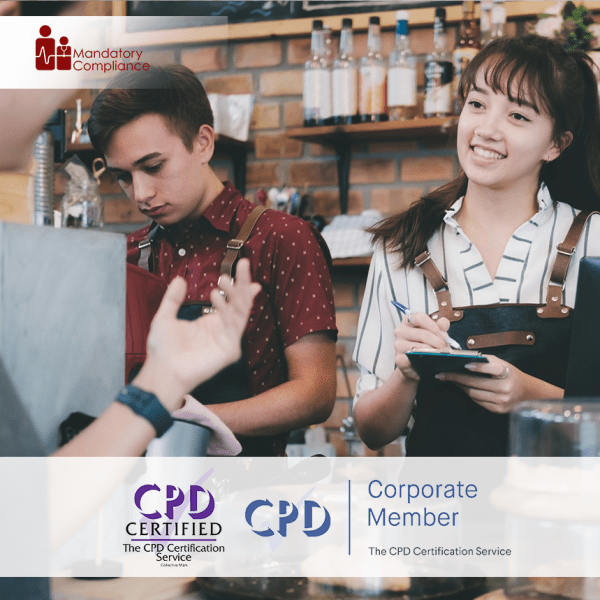 Prepare to Deliver Excellent Customer Service – Online Training Course – CPD Accredited -Mandatory Compliance –