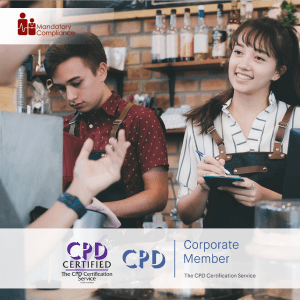 Prepare to Deliver Excellent Customer Service - Online Training Course - CPD Accredited -Mandatory Compliance -