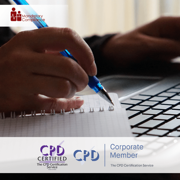 Report Writing – Enhanced Dental CPD Course – CPD Accredited -Mandatory Compliance –