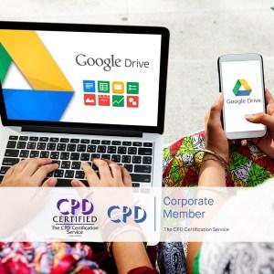 Mastering Google Drive - Online Training Course - The Mandatory Training Group UK -