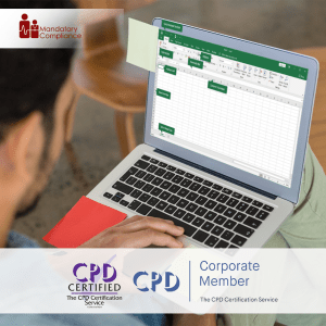 Mastering Microsoft Excel 2016 - Advanced - Online Training Course - CPDUK Accredited - Mandatory Compliance UK -