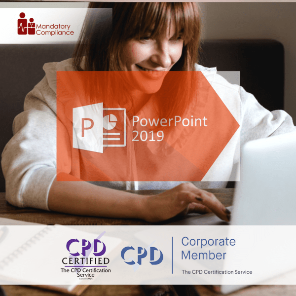 What's New in PowerPoint 2019 – Online Training Course – CPD Accredited – Mandatory Compliance UK –