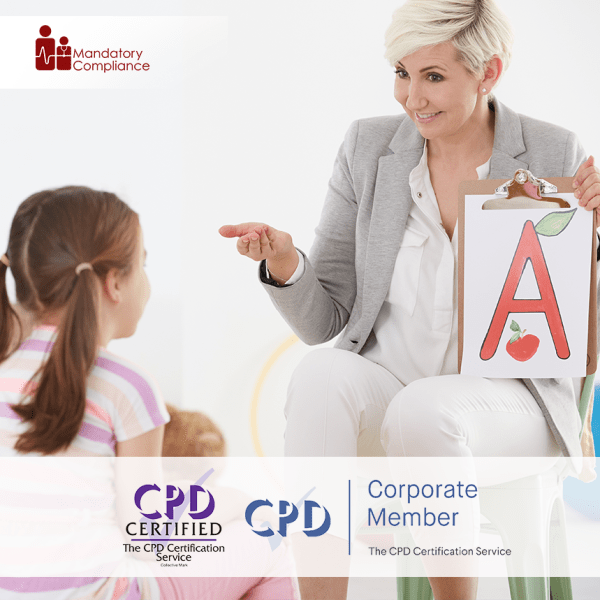 Communication and Language Difficulties in the Early Years – Online Training Course – CPD Accredited -Mandatory Compliance –