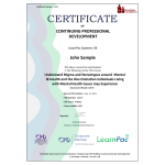 Understand stigma and stereotypes around mental ill-health and the discrimination individuals living with mental health issues may experience – eLearning Course – CPD Certified – Mandatory Compliance UK –