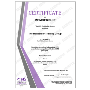 Pressure Area Care - e-Trainer Pack - Online CPDUK Accredited Certificate - Mandatory Compliance UK -