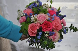Bridesmaid's Hand-tied Bouquet
